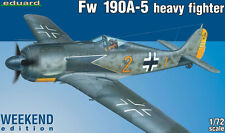 eduard Focke-Wulf Fw 190A-5 heavy fighter Max Stotz Josef Gusano de luz 1:72 kit