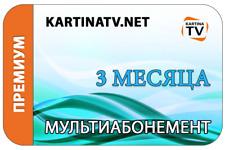 Kartina TV 3 Month Service + 9 Days Free