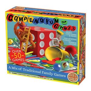 Junior Compendium of Games House of Marbles 50 Assorted Games 221110 Brand New