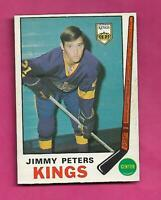 1969-70 OPC # 143 KINGS JIMMY PETERS EX-MT ROOKIE CARD (INV# D4178)