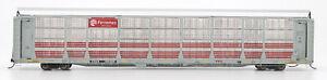 Intermountain HO-Scale 89' Bi-Level Auto Rack Carrier - Ferromex (White/Red)