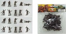 World War II 1/32 Russian Plastic Soldiers Set w/ 20 Figures Set PYS48 NEW!