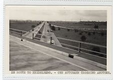 AUTOBAHN, EN ROUTE TO HEIDELBERG: Germany plain back postcard (C16693)