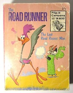 1974 The Road Runner The Lost Road Runner Mine Big Little Book Good Condition