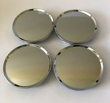 "4 pcs Universal Chrome Wheel Center Caps 63mm/ 2 1/2"" Fit Dodge Dakota"