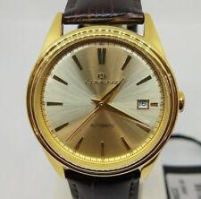 Orologio Lorenz Automatico Datario Classico Cassa Rotonda Placcata oro 027186CC