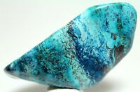 "3.4"" STUNNING BLUE POLISHED SHATTUCKITE FROM CONGO"