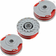 3 x Strimmer Trimmer Spool & Line For Flymo Power Trim 500 Power Trim 500 XT