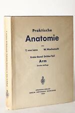 PRATICO ANATOMIA Volume 1 / PARTE 3 Braccio, LANZ & WACHSMUTH 1959 (78871)