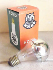Orion Bulb 100w E27 230v Lamp Light Silver Mirrored Cup Silver top Nos Germany