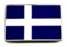 Shetland Flag Belt Buckle Scottish Island Scotland Patriotic Authentic Product
