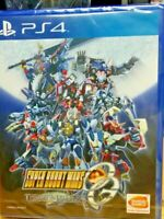 PS4 ASIA SUPER ROBOT WARS OG THE MOON DWELLERS  ENGLISH REGION FREE NEW SEALED