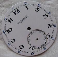 Ulysse Nardin pocket watch enamel dial 41 mm. in diameter