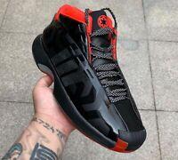 Adidas Crazy 1 Star Wars Black Red Darth Vader Dark Side UK7.5 Harden Rose Boost