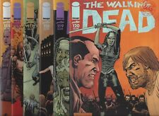 THE WALKING DEAD #116 117 118 119 120 ALL OUT WAR PARTS 1-6 IMAGE COMICS!