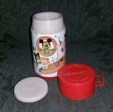 MICKEY MOUSE CLUB Aladdin Thermos Walt Disney Vintage 1970's Hot & Cold