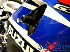 Shogun BLACK No Cut Frame Sliders. Suzuki GSX-R 750 GSXR750 2000-03