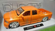 DODGE  RAM pick-up 1/18 JADATOYS DUB CITY BIG BALLERS 63162-OM voiture miniature