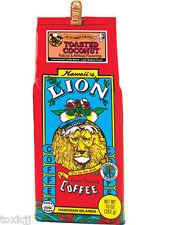 Lion Coffee TOASTED COCONUT ground Hawaii 10oz
