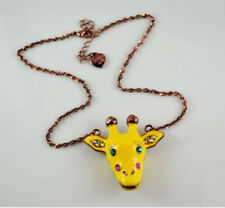 N61 Betsey Johnson Exquisite Animal Giraffe Lion King Necklace  US