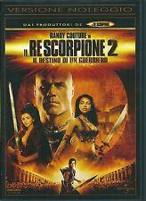 IL RE SCORPIONE 2 - IL DESTINO DI UN GUERRIERO - DVD (USATO EX RENTAL)