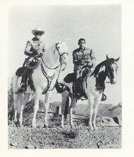 Lone Ranger & Tonto Penny Arcade Movie TV Star Promo B&W Wallet Photo card 1970s