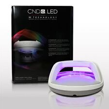 CND LED Lámpara curas Goma Laca & Brisa Profesional Secador de uñas de curado LED Lámpara Luz