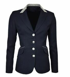 Mark Todd Ladies Elite Show Jacket Size 10 Navy - Please Read Description