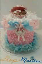 Angel Baby Shower Baptism Diaper Cake Table Decoration Cake Topper FIGURINE