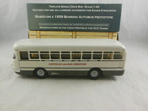 Scarce ACE Trains Tinplate 1959 Bussing Autobus prototype 1:43 Scale