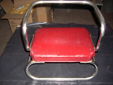Vintage Kids Seat for Barber or Styling Chair, 1950's, Great Shape, Burgundy