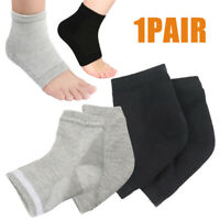 2Pcs Silicone Moisturizing Gel Heel Socks Cracked Foot Skin Care Protectors Kit