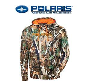 2020 Polaris Men's Pursuit Camo Hoodie RZR SPORTSMAN ACE GENERAL - Pick Size