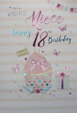 Niece 18th Birthday Card