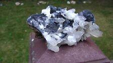 """4 1/2"""" X 6"""" Spectacular! Hematite & Quartz Display Specimen - J,G, China"""