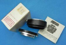 Leica 14134-1 & 14134-2 SL TUBE ADAPTER MOUNT ......... NEW