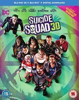 Suicide Squad (Blu-ray and  3d blu ray  New & Sealed 2 disc set