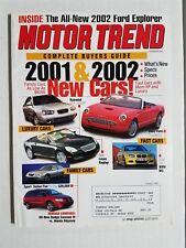 Motor Trend Oct 2000 Ferrari 360 Spider  BMW 740 il  Cadillac DeVille  Hummer H2