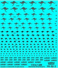 1/72 1/100 1/144 1/288 Decals 6mm 15mm 20mm Australian Army Kangaroo YK-52-3