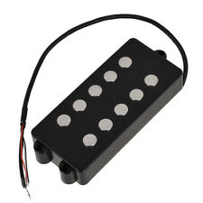 Black 5 String Bass Guitar Pickup Humbucker For Music Man Bass Coil Tap