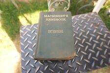 Machinery's Handbook, 15th Edition,1955
