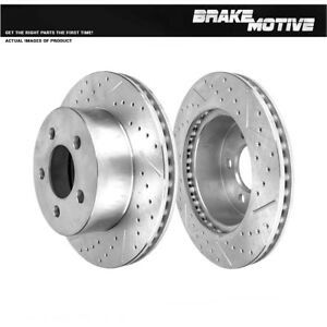 Front Quality Brake Rotors For JEEP WRANGLER TJ CHEROKEE XJ 2.4L 4.0L 2.5L
