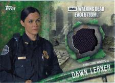Walking Dead Evolution Costume Wardrobe Card R-DL Christine Woods as Dawn #13/25