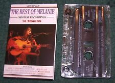 The Best of Melanie Tape Cassette, Ruby Tuesday,Lay Lady Lay, Mama Mama, etc