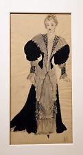 Roger die Scham-Projekte Kostüme-Zeichnungen Originale- ANNETTE SARRADIN-1945/46