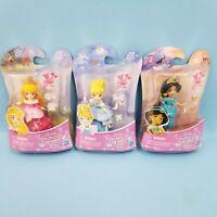 Disney Princess Little Kingdom Classic Jasmine Cinderella Aurora Hasbro 3 Dolls
