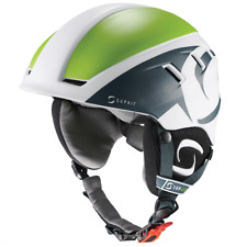Supair PILOT Paragliding ⭐Helmet PPG, Paramotor ⭐White & Green Adjustable S to L