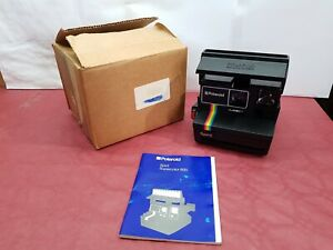 POLAROID Spirit 600 Vintage Instant Camera con istruzioni e scatola