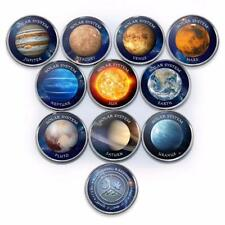 Azad Jammu and Kashmir, 1 rupee, Set of 10 coins Solar system, planets, 2019