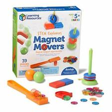 Learning Resources STEM Explorers Homeschool Magnet Movers 39 Pieces STEM Cer...